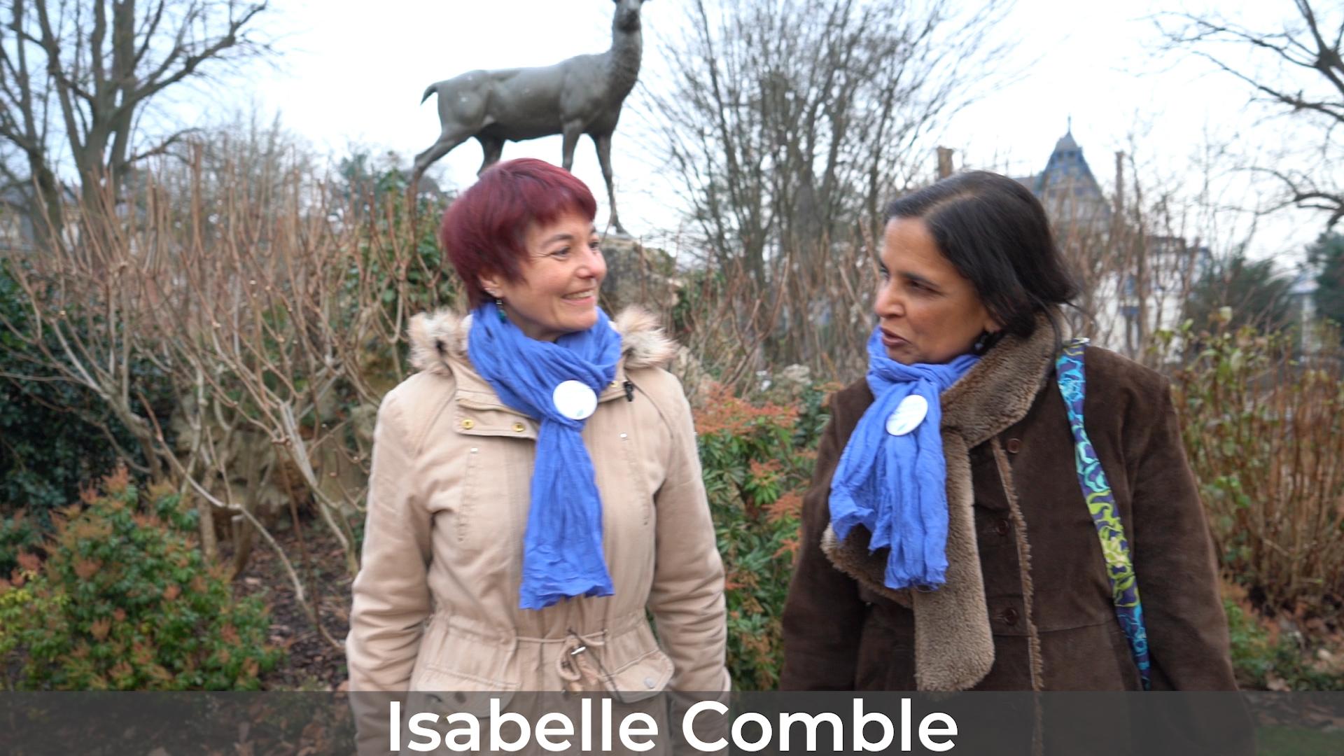 Isabelle Comble se présente